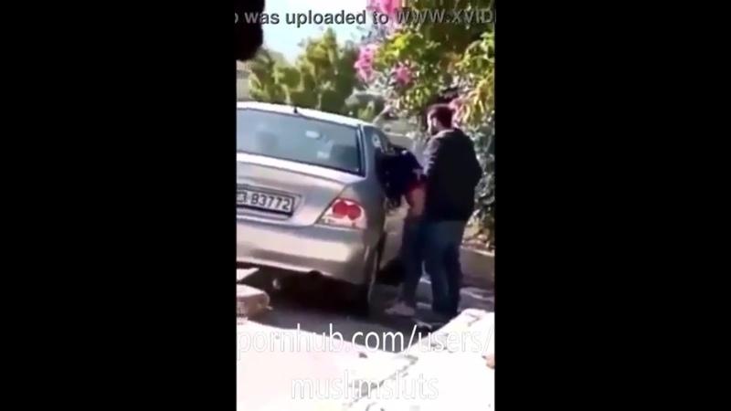 فضيحة نيك محجبة على اللانسر في الشارع (فيديو اللانسر) Hijabi