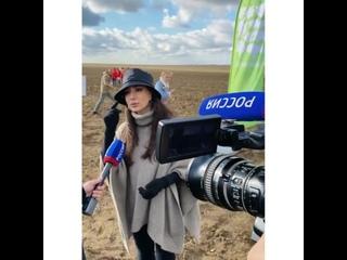 Участие Зары в экологической акции Сохраним лес (Крым)
