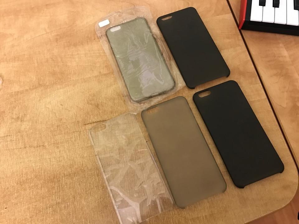 Прозрачные чехлы на iPhone 6/6s Plus