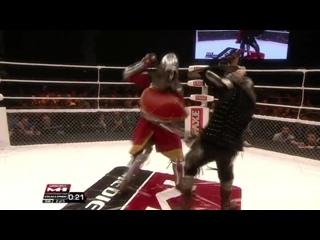 Бой рыцарей - Евгений Беденко vs. Иван Васильев, M-1 Medieval