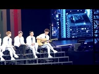 [FANCAM D3] 161211 The EXO'rDIUM in Osaka @ EXO - Moonlight (Acoustic Ver.)