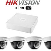 Комплект TurboHD видеонаблюдения Hikvision DS-2CE56D1T-IRMM/7104HGHI-F1/N