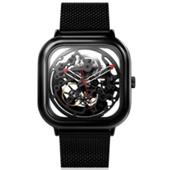 Часы с кожаным ремешком Xiaomi CIGA Design Anti-Seismic Mechanical Watch Wrist watch (Черный)