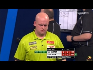 Michael van Gerwen vs Gary Anderson (PDC World Darts Championship 2017 / Final)