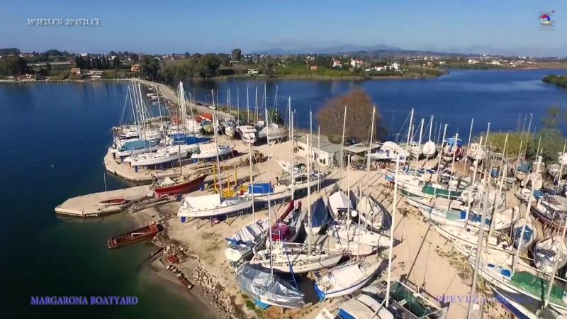 Margarona Boatyard Summer 2017 Preveza