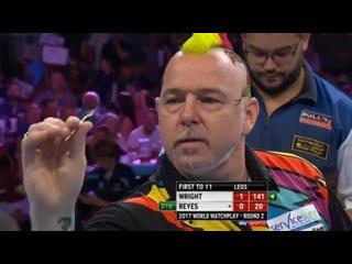 Peter Wright vs Cristo Reyes (PDC World Matchplay 2017 / Round 2)