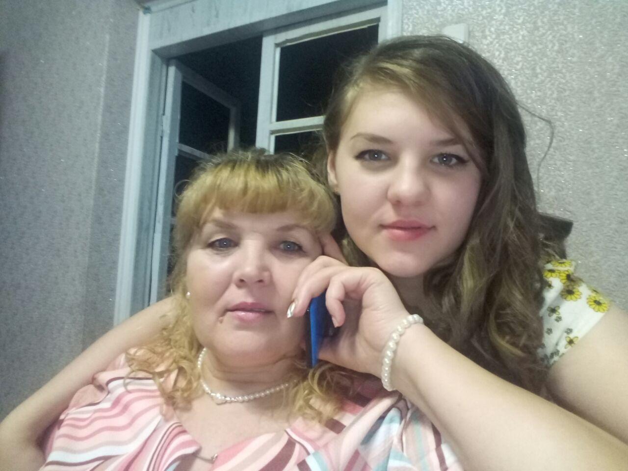 Чумаченко Татьяна (с младшей дочерью)