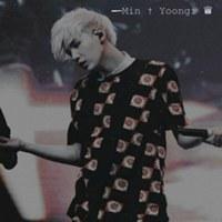 Фотография страницы Min Yoongi ВКонтакте