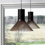 Деревянные потолочные светильники
