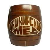 Мед «Бочонок деревянный» 0,3 кг.