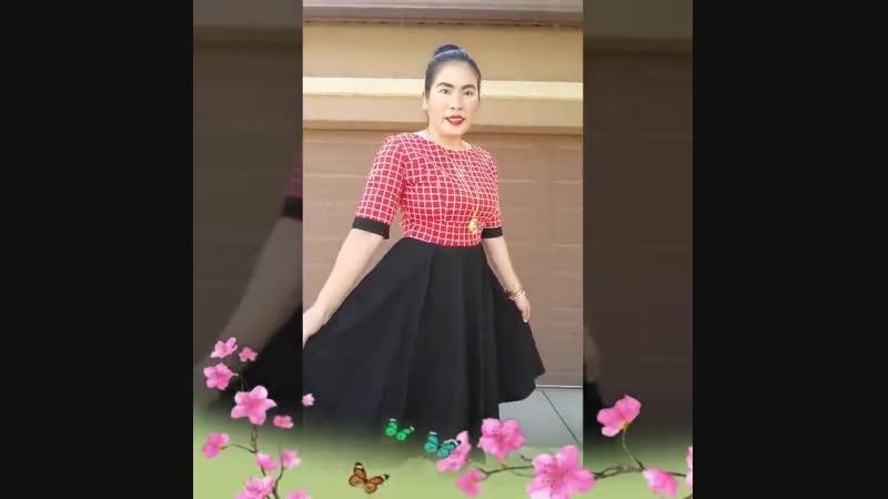 Heroecol Womens Vintage 1950s Dresses Oblong Neck Short Sleeve 50s 60s Style Ret