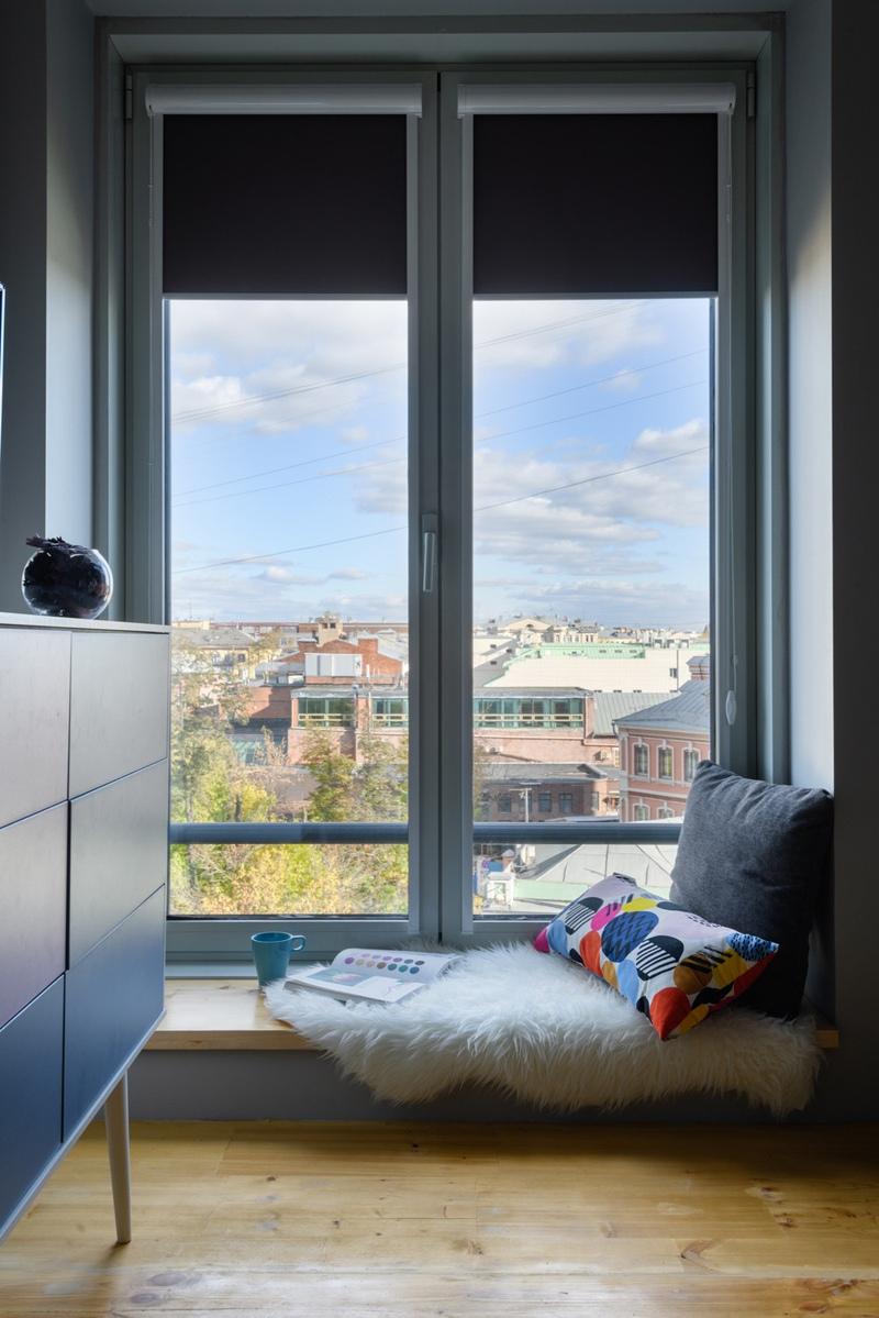 Интерьер маленькой квартиры-студии 18 м.