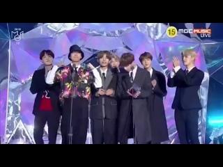 061118 BTS winning Best Male Dance Performance! 🏆