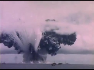 Kamikaze attack on SS John Burke (ammunition ship) results in very large explosion: Ship destroyed instantly, all crew lost. 194