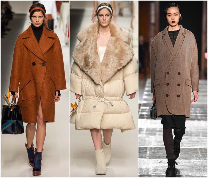 Зимняя одежда в стиле оверсайз
