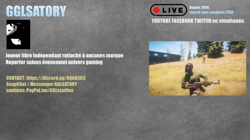 Multigaming Battlefield 5 Battlefield 4 Rust ,rejoignez moi sur discord snapchat GGLSATORY en live avec les BR