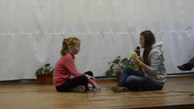Катя и Алиса Отряд Дружбанчики