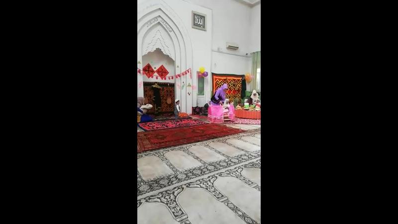 Хафиза бесикке салу
