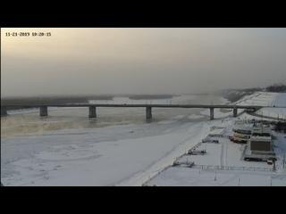 Веб-камеры К24: Обь во льду