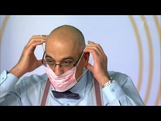 Жить Здорово!_2016г_Спасут ли маски от простуды_ Как защититься от микробов и вирусов.  Жить здорово!  (720p)