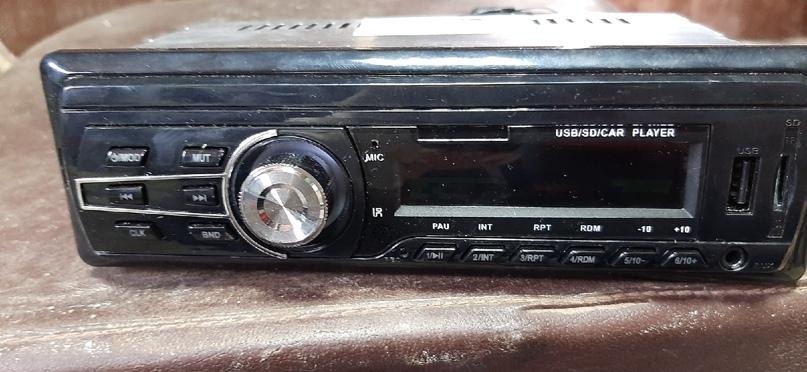 Магнитола 900рублей Есть USB. AUX. MICRO SDCARD. | Объявления Орска и Новотроицка №13773