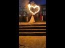 Огненное сердце и холодные фонтаны на свадьбу в Твери