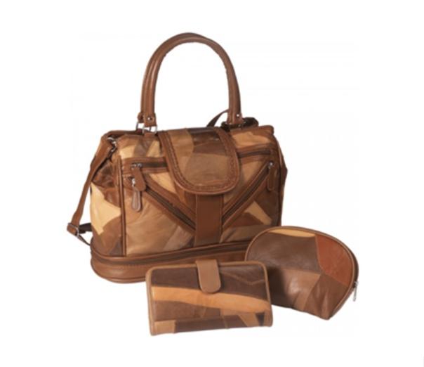 Комплект кожаных сумок «Римские каникулы» со скидкой 50%