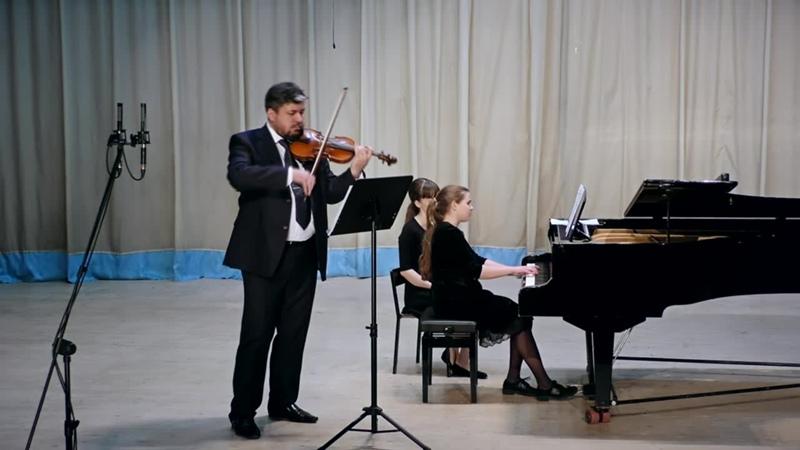 А.Лядов - Прелюдия си минор (переложение для скрипки и фортепиано)