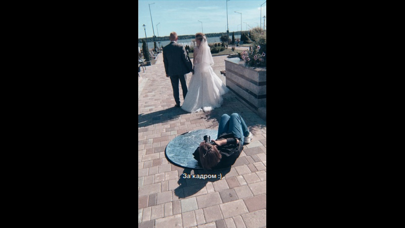 Бекстейдж со свадебной съемки