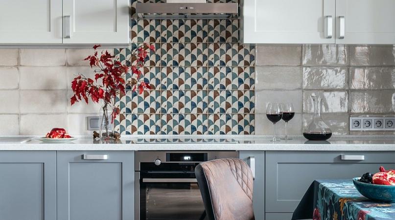 Плитка на кухне: все достоинства правильного выбора.