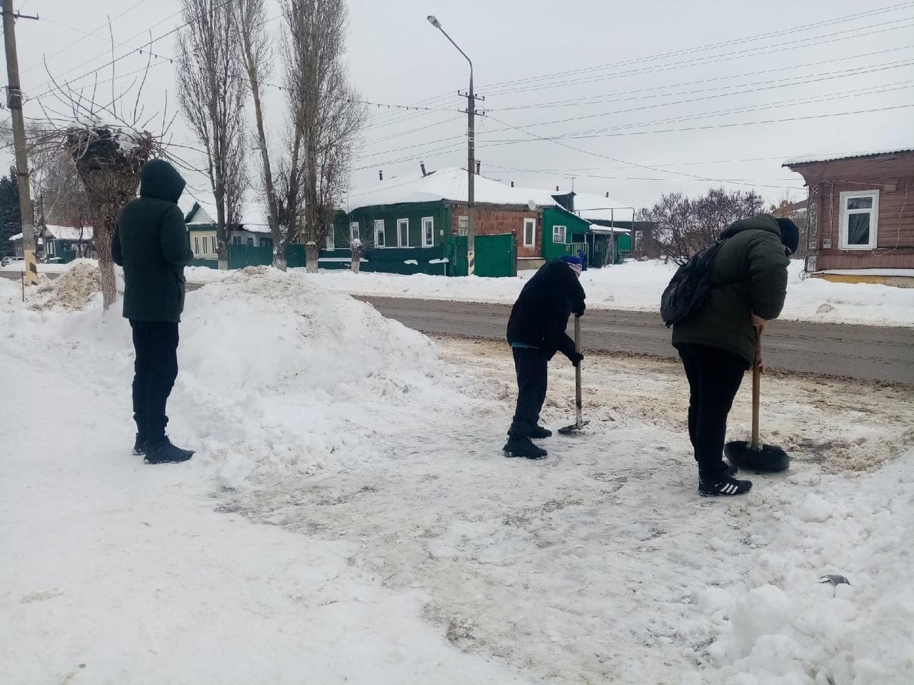 В Петровске продолжается волонтёрская акция «Дом без одиночества»