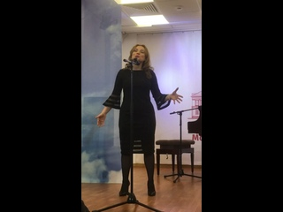 Актриса Ольга Пронина читает стихотворение  Константина Васильевича Скворцова