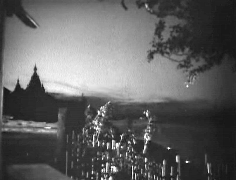 Феодоровская церковь и вид на реку Вятку. Кадр из фильма «Таланты и поклонники».