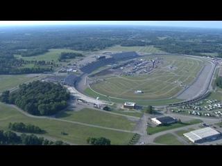 Chopper camera - Michigan - Round 21 - 2020 NASCAR Cup Series