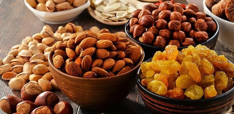 полезное питание орехи