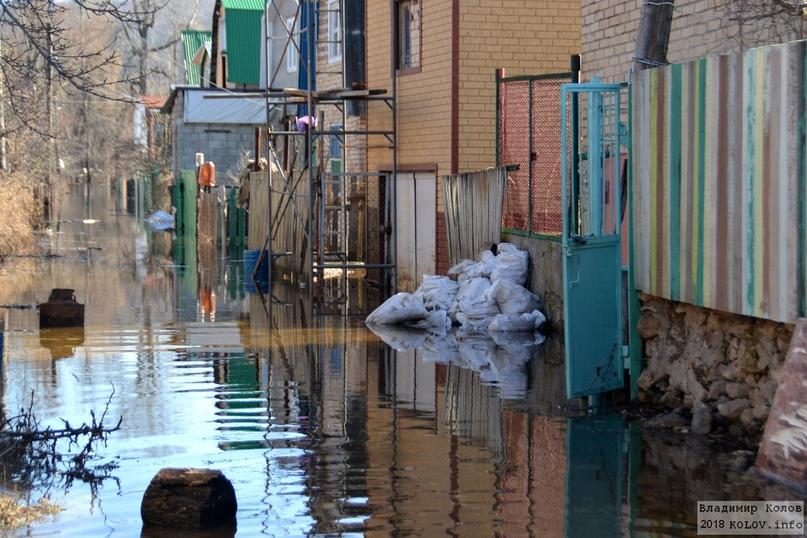 В Тольятти на полуострове Копылово подтопило 34 дачных участка