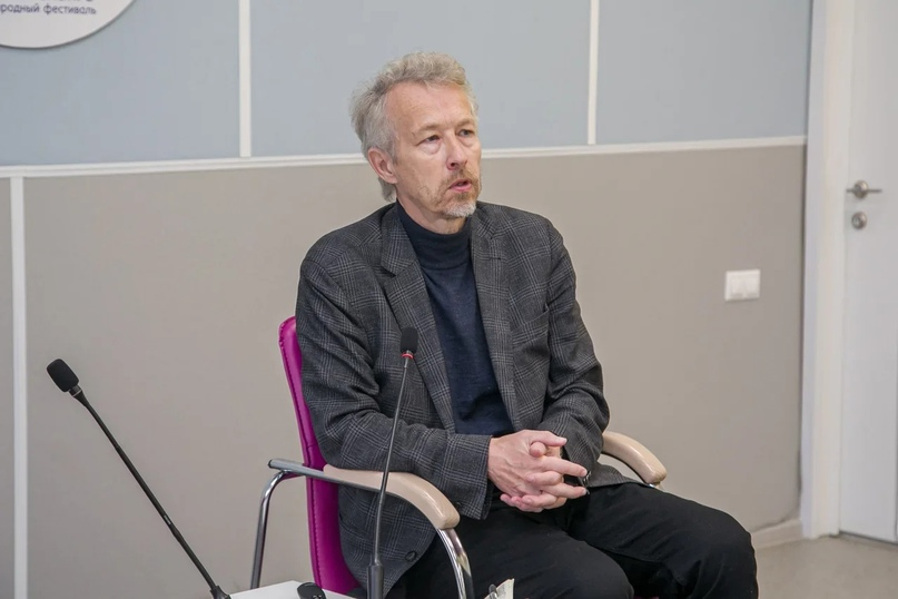 Дмитрий Замятин на фестивале «Книжная Сибирь»