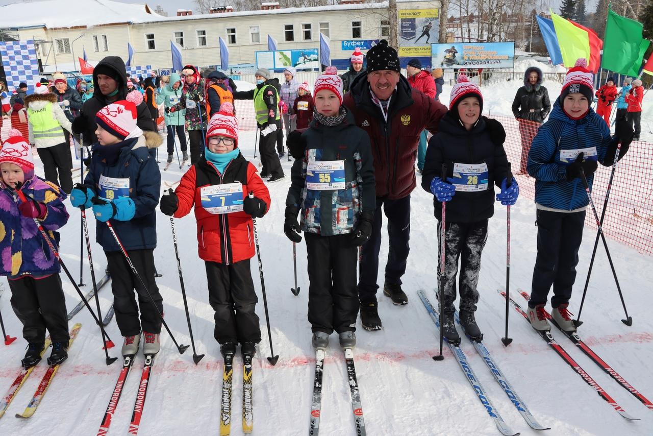 """На благотворительном зимнем старте  """"Олимпийская лыжня 2021"""""""