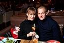 Защитник «Томи» Синяк Антон с женой Натальей. Вместе 7 лет.