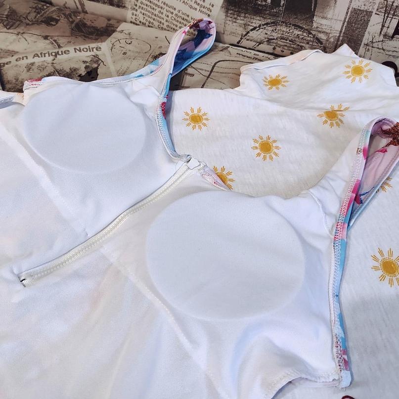 Монокини в нежной оригинальной расцветке! ⭐👓🤩