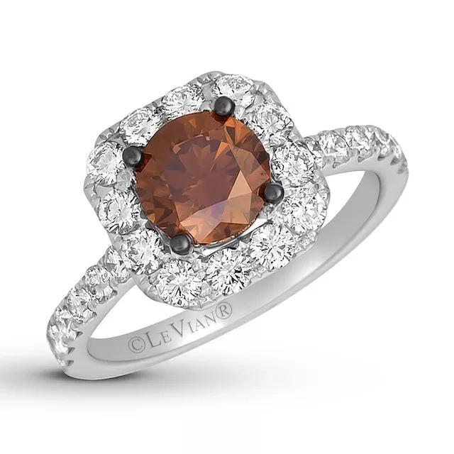 hVLwpjzsN30 - Шоколадные бриллианты в обручальных кольцах - звучит мечтательно