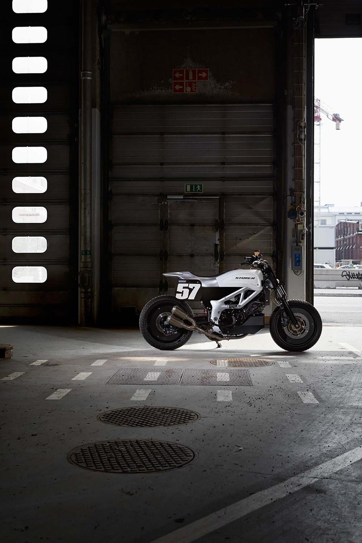 Флэт-трекер Stoker Motorcycles STR SV650
