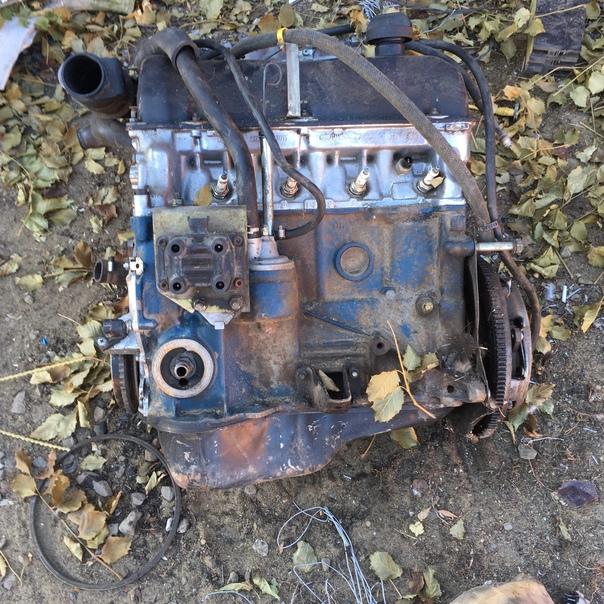 Продам двигатель ваз 2107 вместе с корзиной идеаль...
