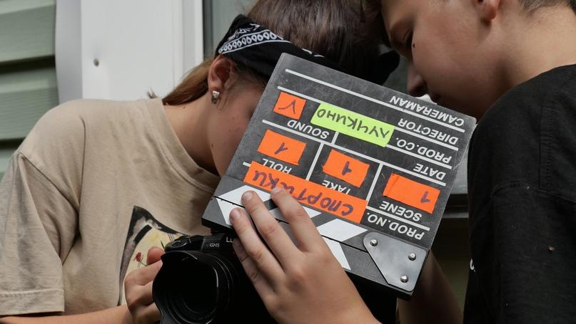 Съемки фильма «Встреча»