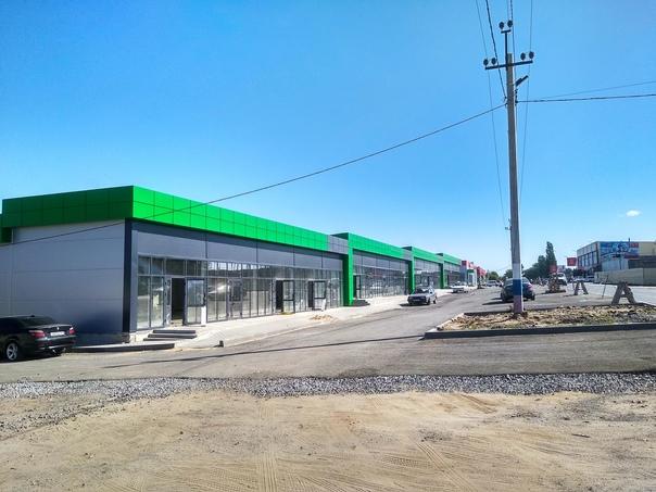 Строительство торговых павильонов в п. Соснах.#Сос...