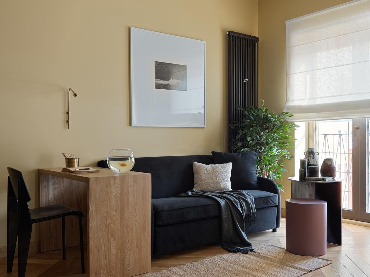 Дизайн квартиры-студии 39 кв.