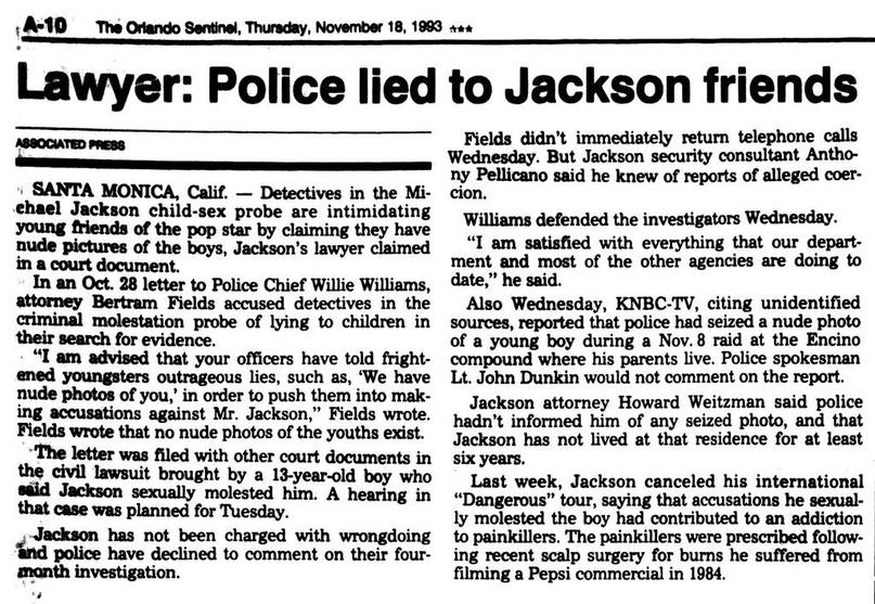 Агония хейтеров Майкла Джексона, изображение №77