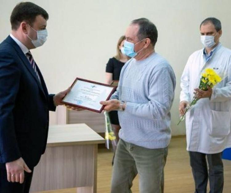 Глава Администрации Андрей Лисицкий поздравил работников скорой медицинской помощи с их праздником