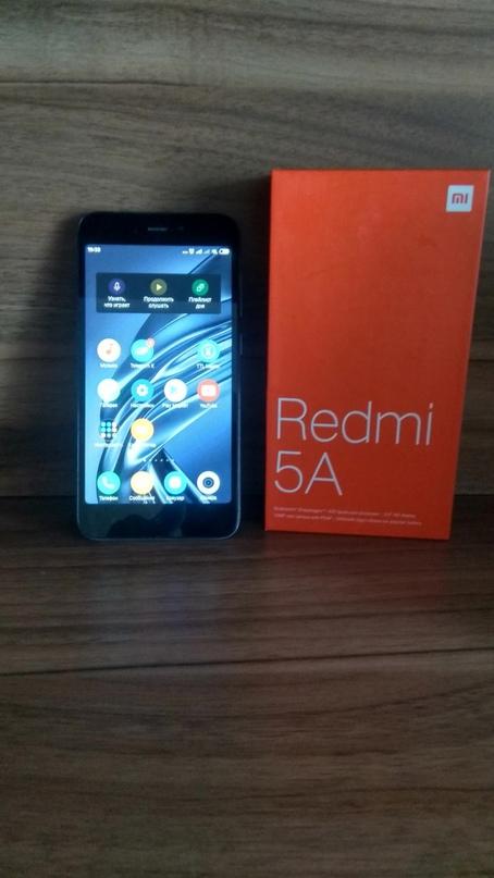 Xiaomi redmi 5a, телефон в отличном состоянии, | Объявления Орска и Новотроицка №27600