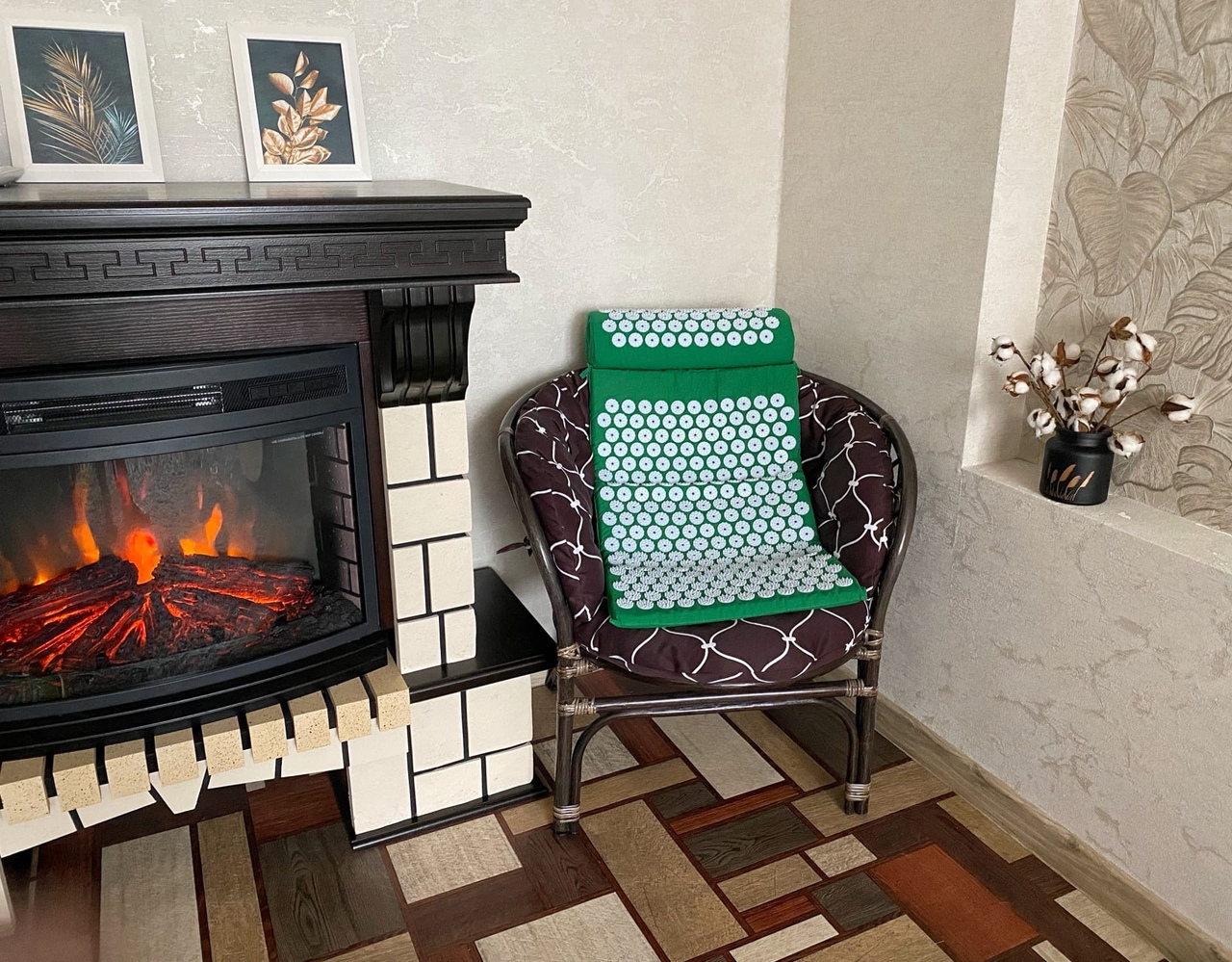 Массажный коврик с подушкой от #DearBeauty